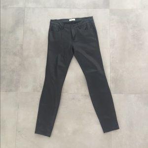 Zara Faux Leather Jeans